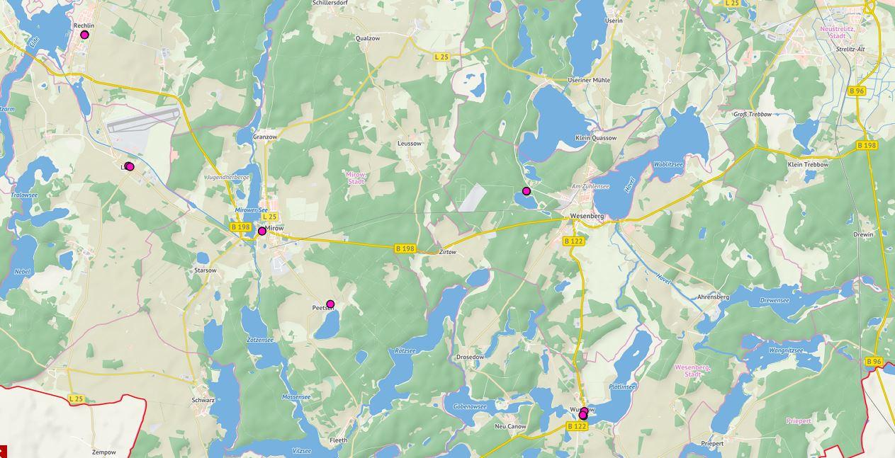 Wasserwandern Mecklenburgische Seenplatte Karte.Kulturherbst An Der Mecklenburgischen Seenplatte
